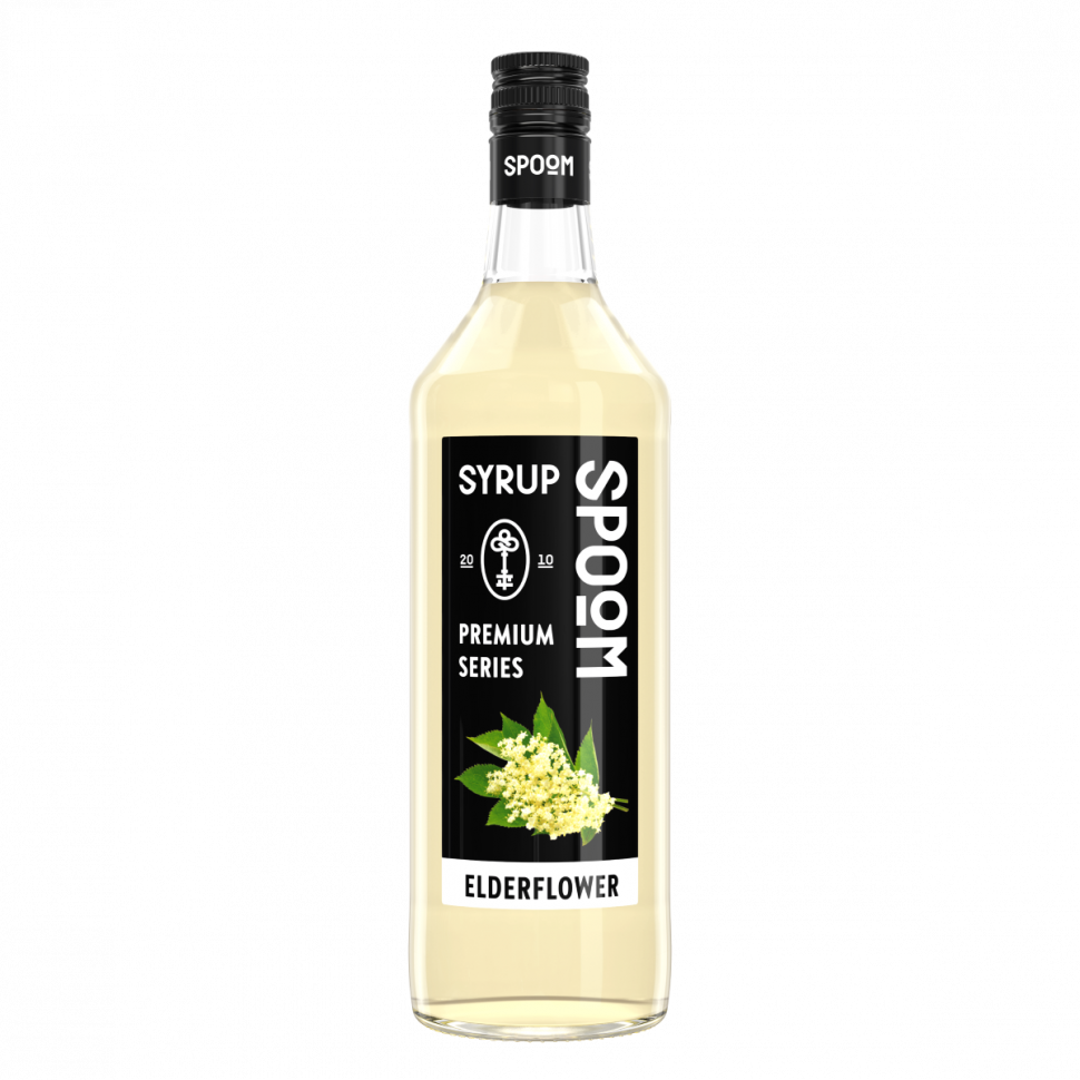 Сироп Spoom Elderflower (Бузина) 1л