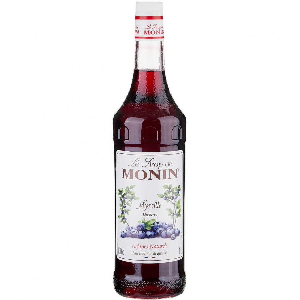 Сироп Monin Myrtille (Bluberry, Черника) 1л